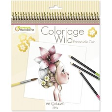 Avenue Mandarine Cuaderno Colorear Coloriage Wild 1