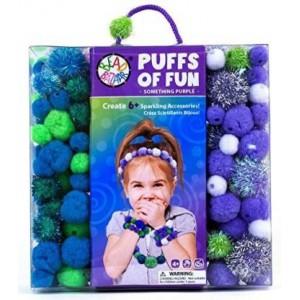 Puffs of fun - Something purple