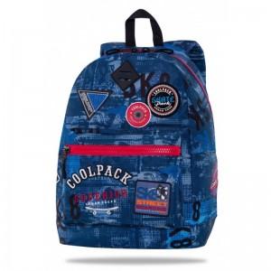 Coolpack Mochila Cross Parches Blue