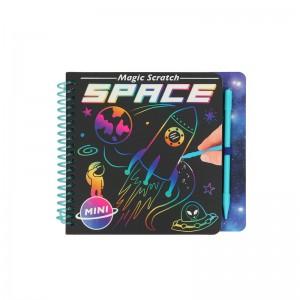 Depesche Dino World Mini Magic Scratch Book Space