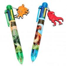 Depesche Dino World Bolígrafo de 6 colores
