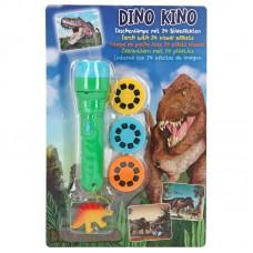 Depesche Dino World Linterna con efectos de imagen