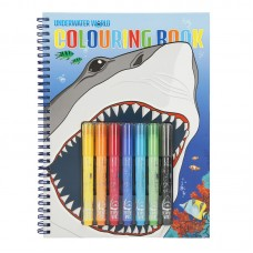 Depesche Dino World Libro de colorear UNDERWATER