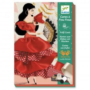 Djeco Cartas con frufrú Flamenco