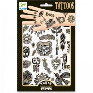 Djeco Tatuajes Dorado chic