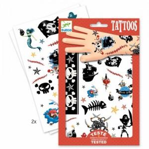 Djeco Tatuajes Piratas