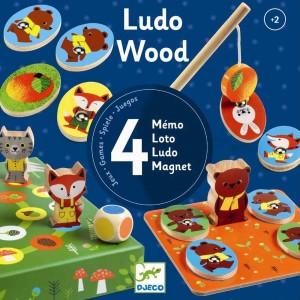 Djeco Ludo Wood