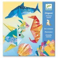 Djeco - Origami - Animales marinos