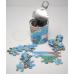 Puzzle magnético - Mapamundi