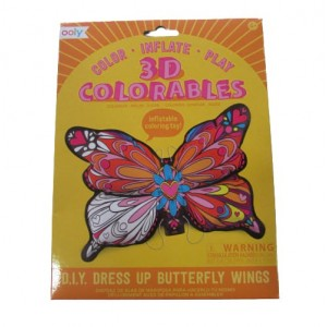Ooly 3D coloreables - D.I.Y. Dress Up Butterfly Wings