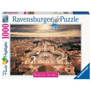 Puzle Roma Vaticano 1000 Piezas