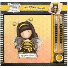 Planner Gorjuss Bee Loved Amarillo