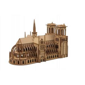 Wood Models Catedral Notre Dame