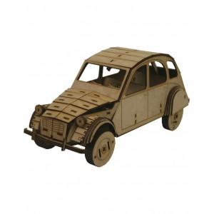 Wood Models Citroen 2 cv