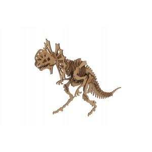Wood Models Dilophosaurus