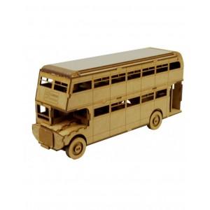 Wood Models London Bus