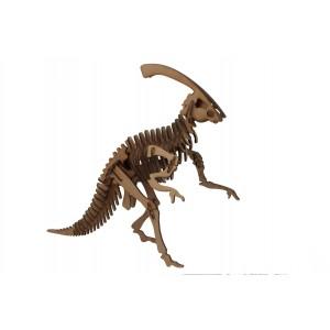 Wood Models Parasaurolophus