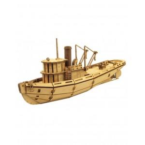 Wood Models Remolcador Puerto