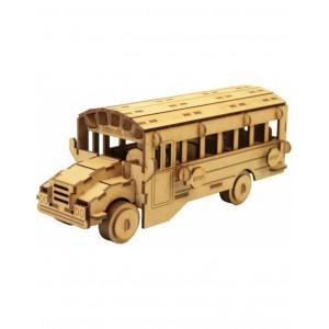 Wood Models School Bus