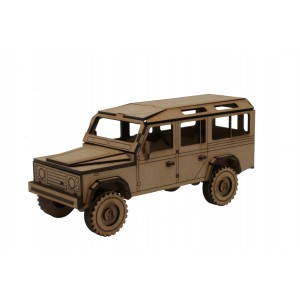 Wood Models Todo Terreno 4X4