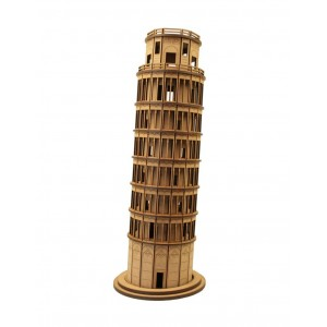 Wood Models Torre De Pisa