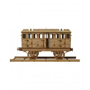 Wood Models Vagon Tren Stephenson